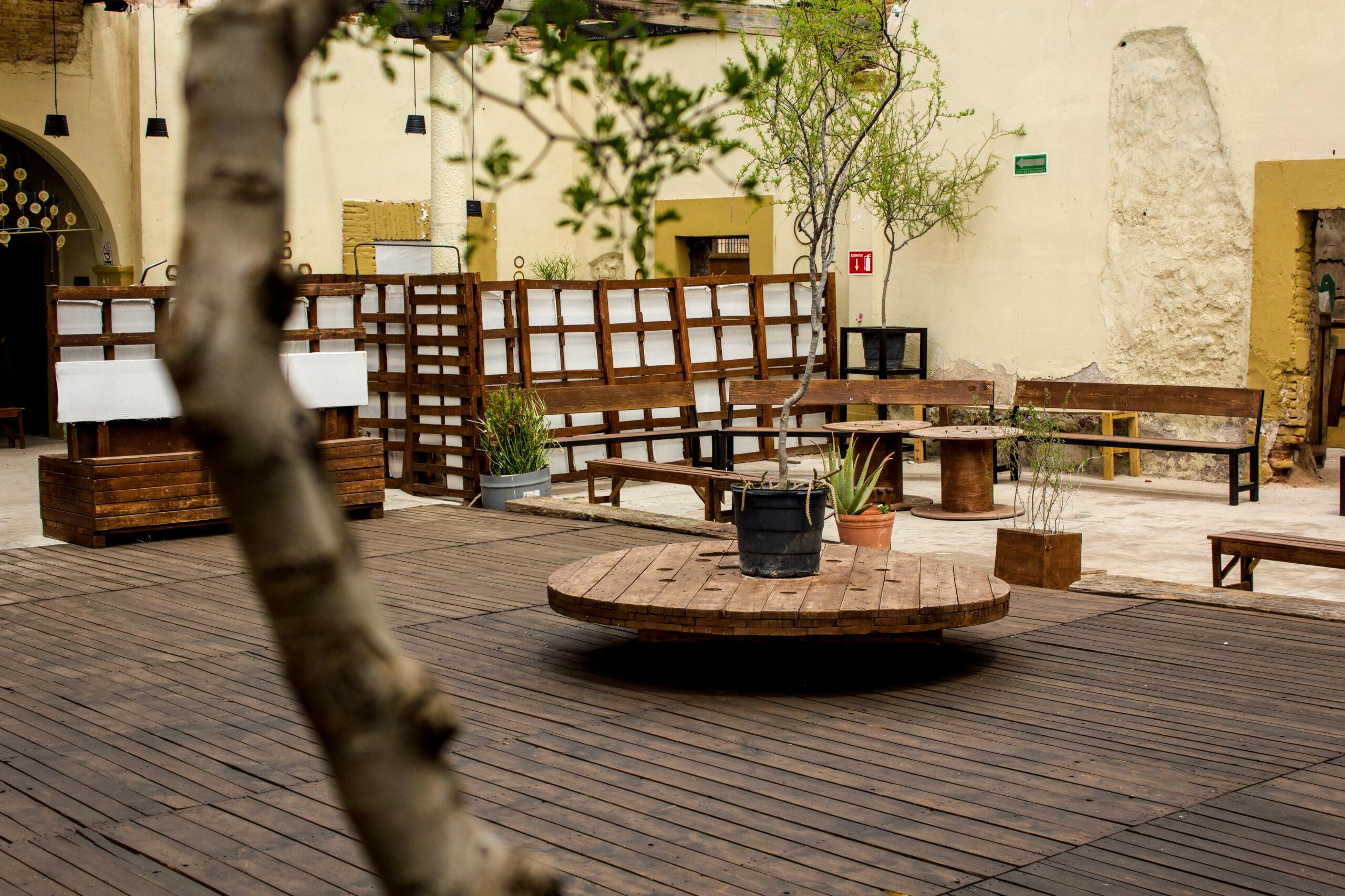 Patio Central de El Mentidero