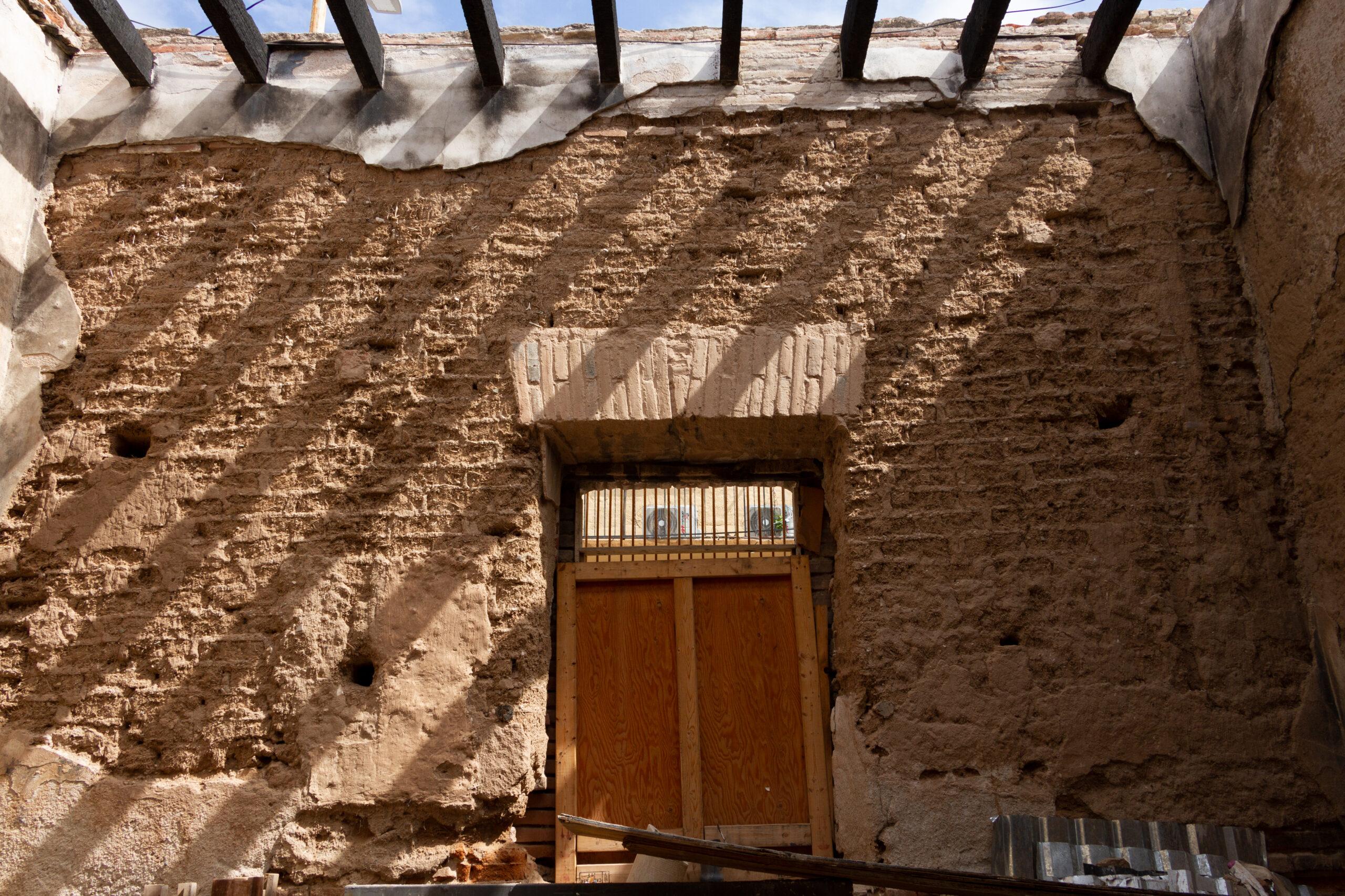 Muro de adobe
